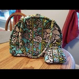 Vera Bradley purse and change purse